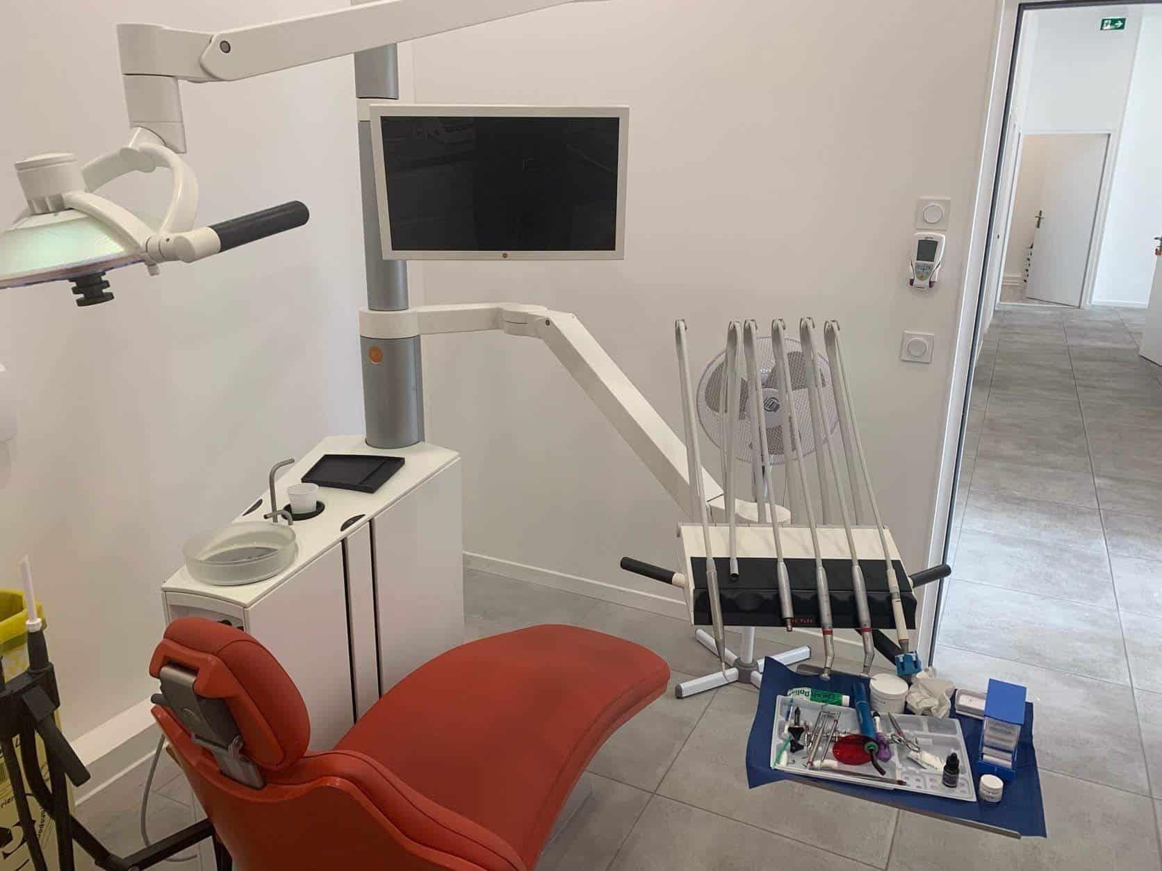 Centre dentaire fauteuil Dentotop